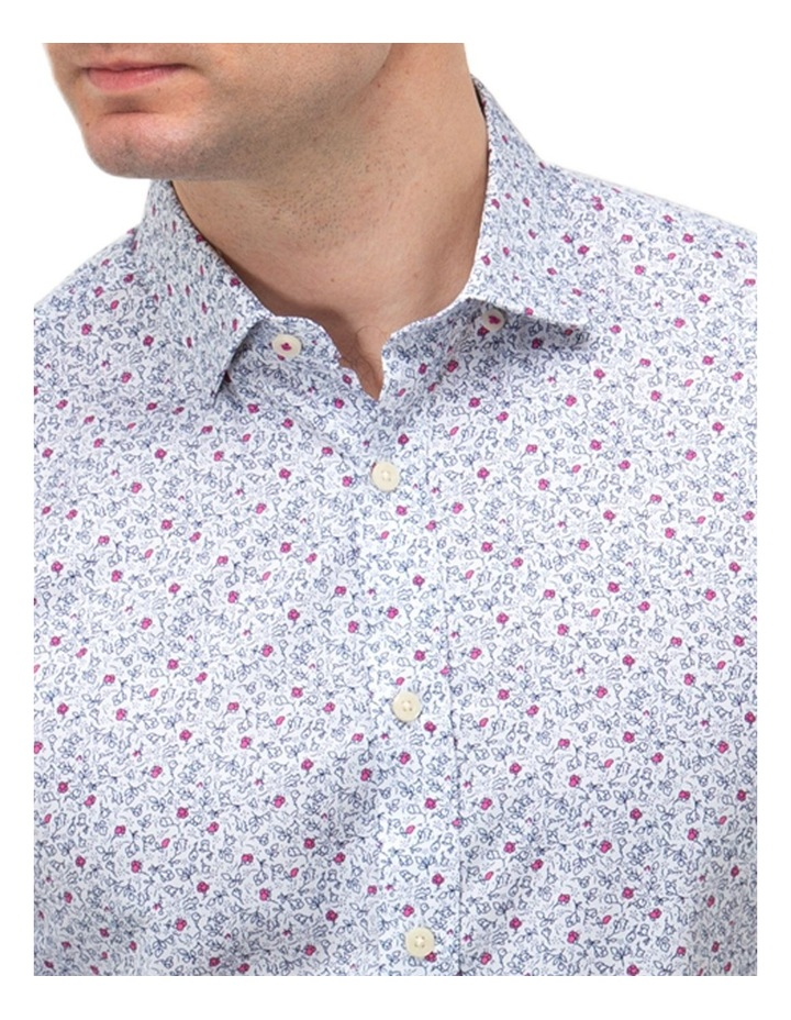 Floral Print Slim Fit Dress Shirt image 2