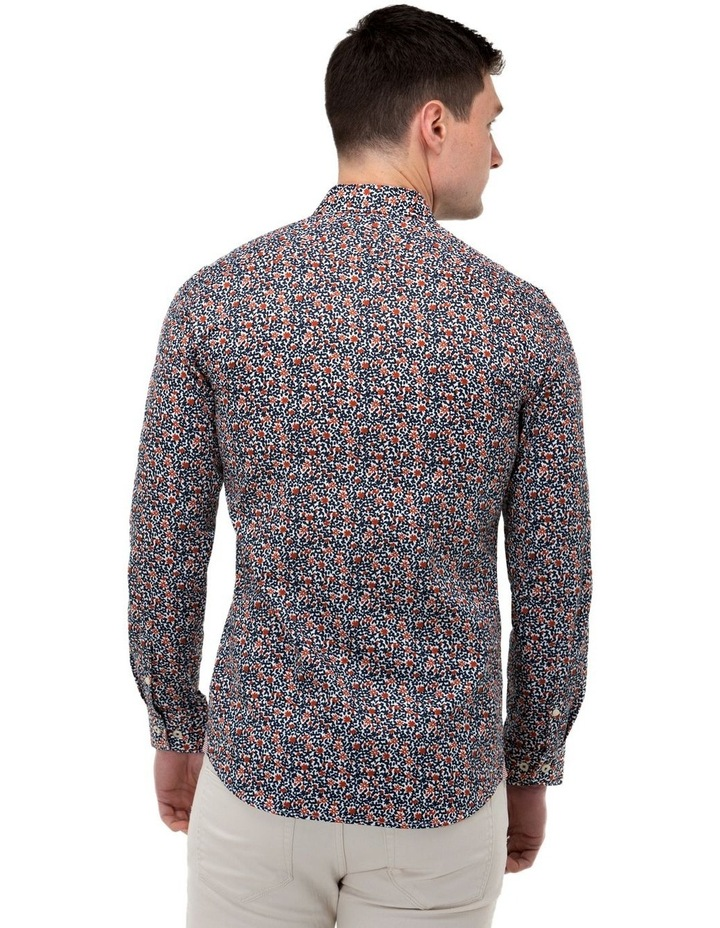 Floral Print Slim Fit Dress Shirt image 3