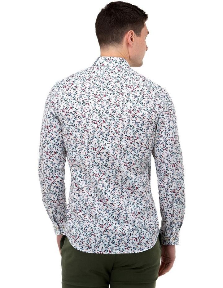 Floral Print Slim Fit Dress Shirt image 3