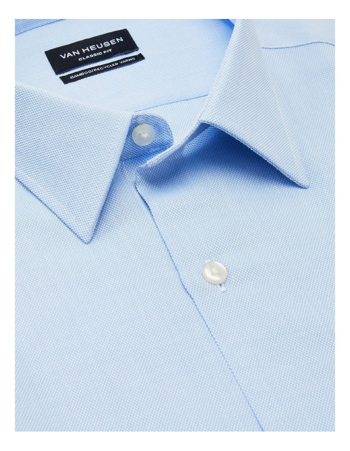 Textured Wash-N-Wear Business Shirt image 2