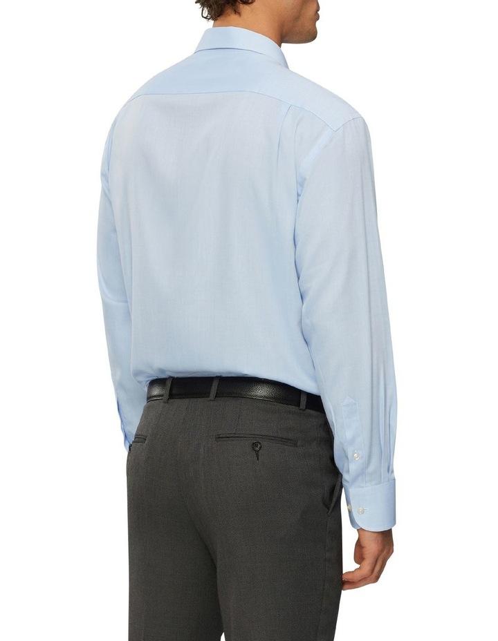 Textured Wash-N-Wear Business Shirt image 3