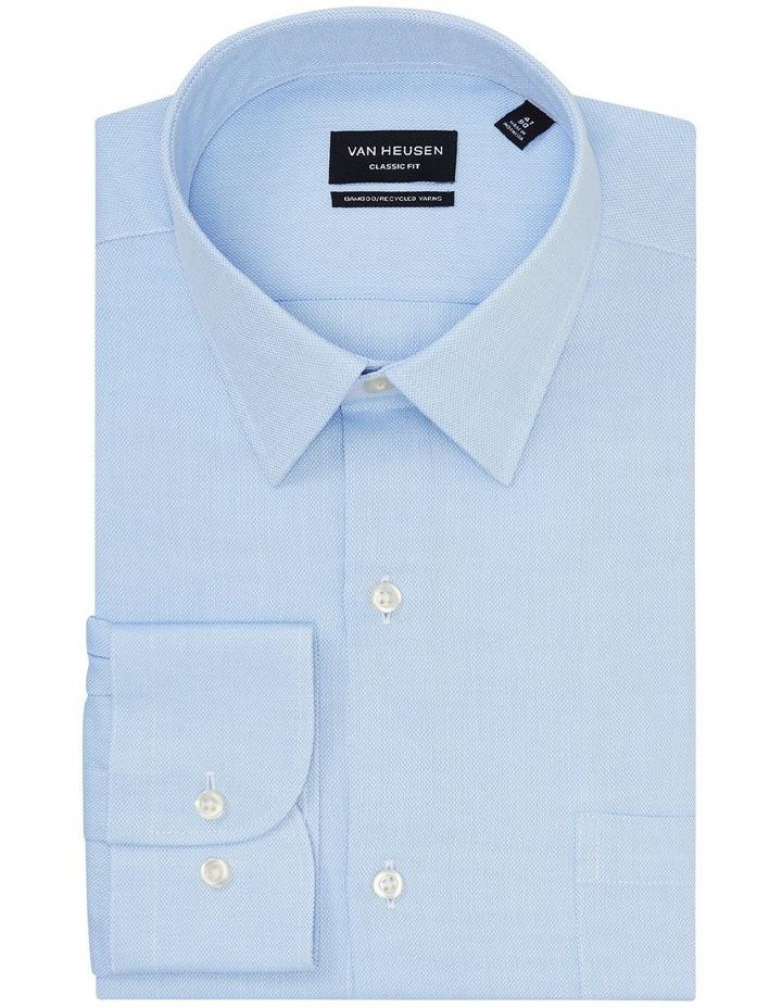 Textured Wash-N-Wear Business Shirt image 4