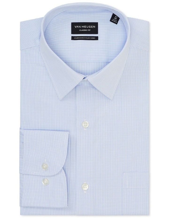 Wash'N'Wear Check Classic Business Shirt image 3