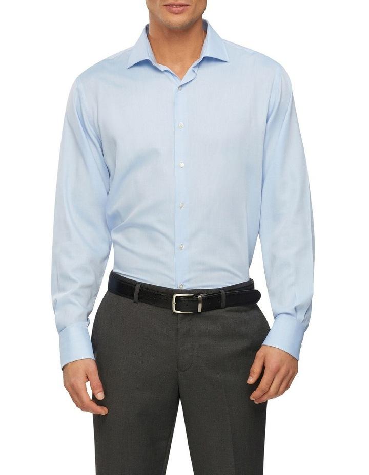 Wash'N'Wear Plain Euro Business Shirt image 1