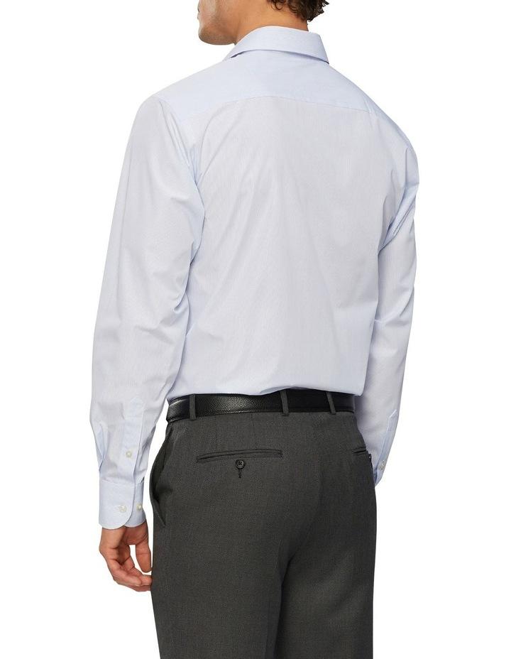 Wash'N'Wear Stripe Euro Business Shirt image 3