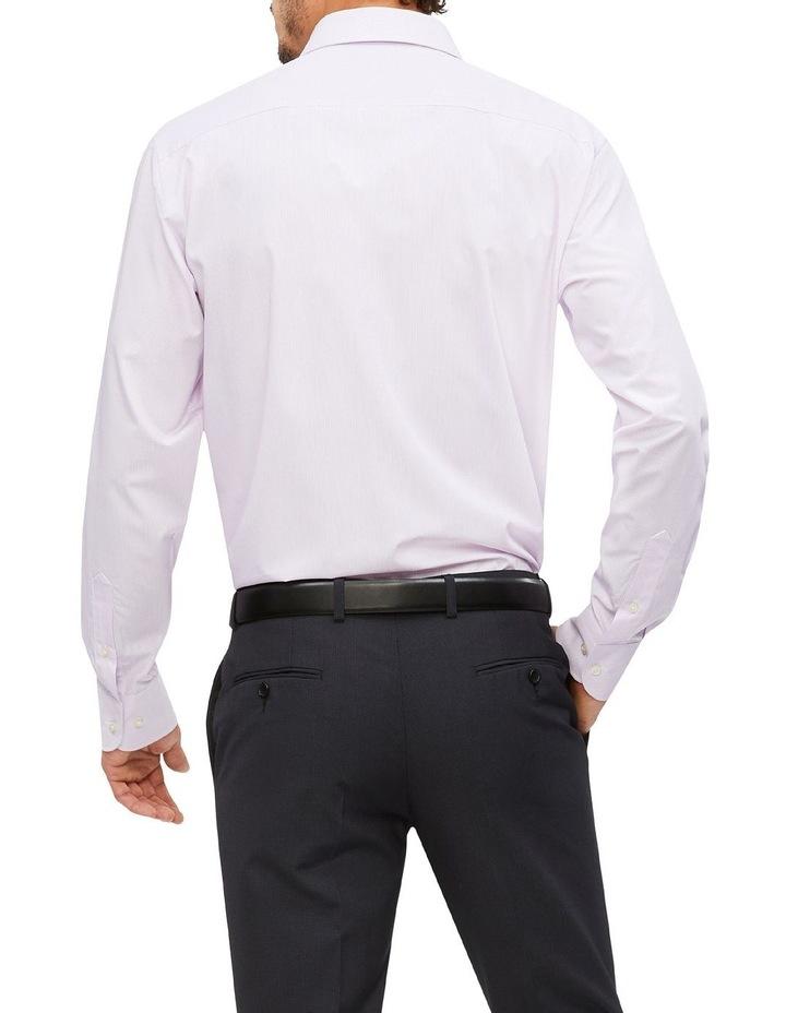Wash'N'Wear Stripe Euro Business Shirt image 2
