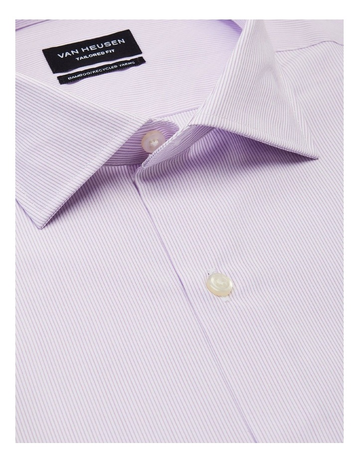 Wash'N'Wear Stripe Euro Business Shirt image 4