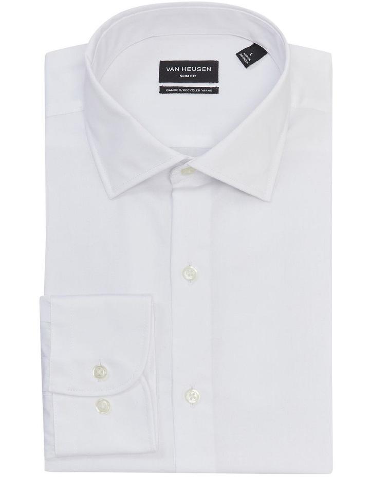 Wash'N'Wear Plain Slim Business Shirt image 3