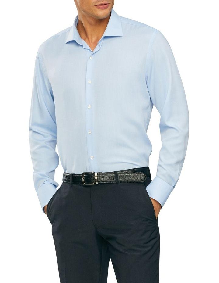 Wash'N'Wear Plain Slim Business Shirt image 1