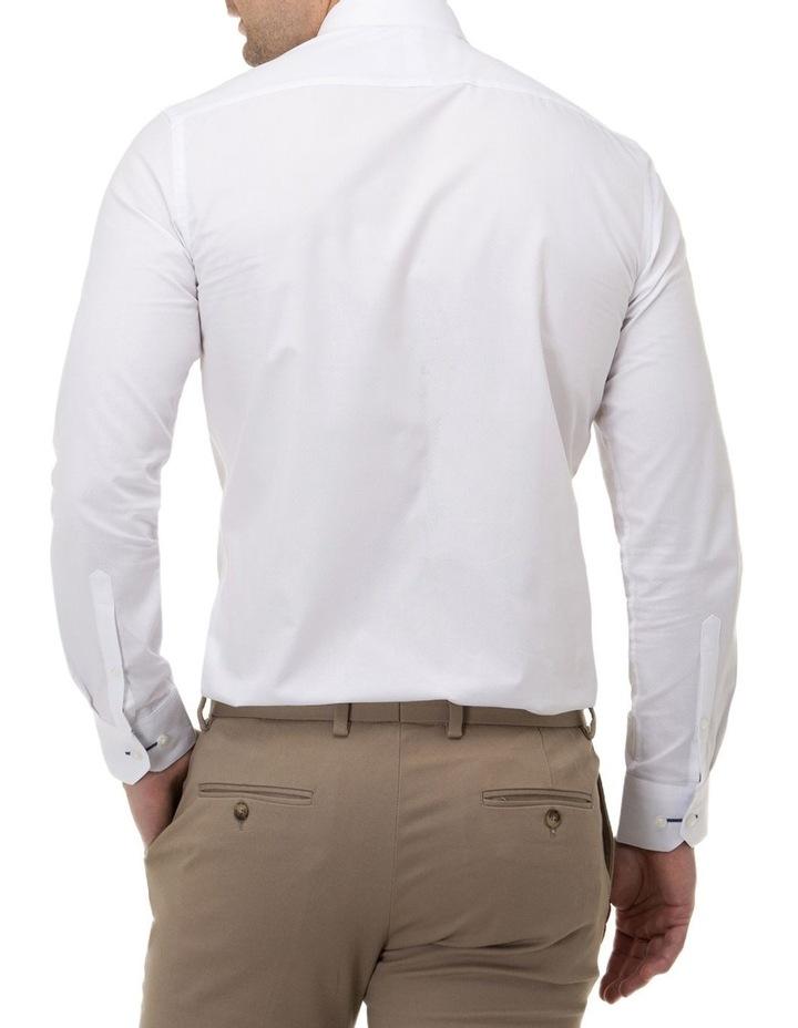 Textured Plain Regular Fit Business Shirt image 3