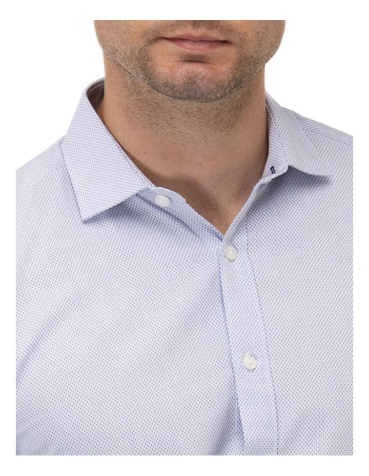 Textured Dot Regular Fit Business Shirt image 2