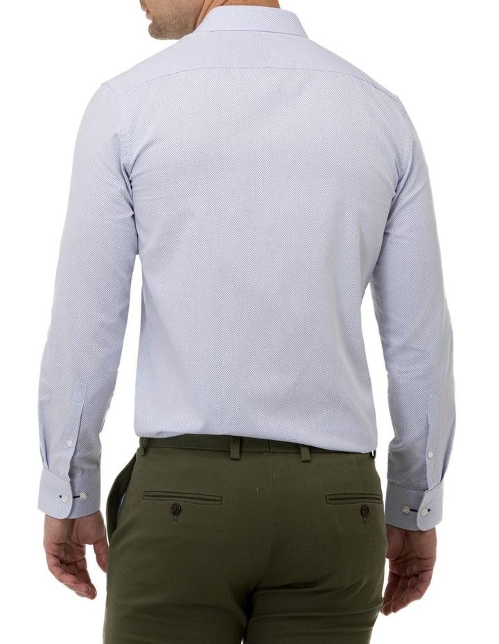 Textured Dot Regular Fit Business Shirt image 3