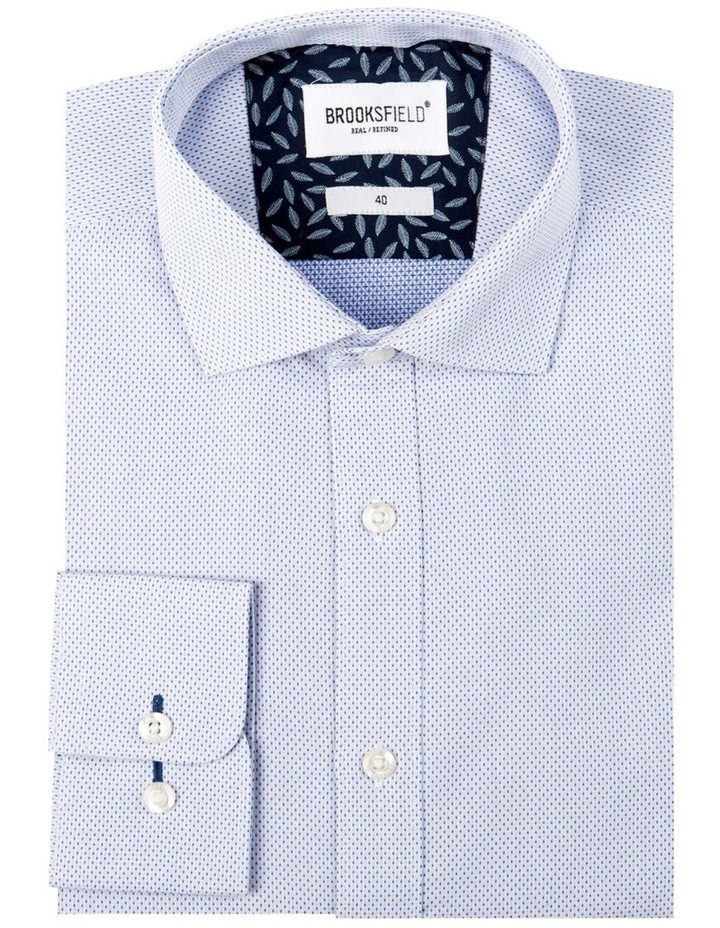 Textured Dot Regular Fit Business Shirt image 4