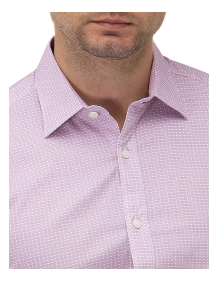 Fine Geo Print Reg Fit Business Shirt image 2
