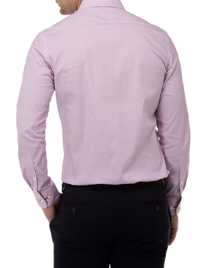 Fine Geo Print Reg Fit Business Shirt image 3