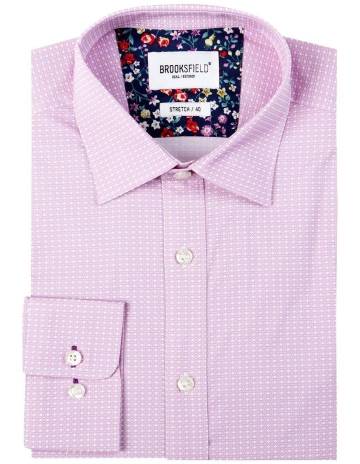 Fine Geo Print Reg Fit Business Shirt image 4