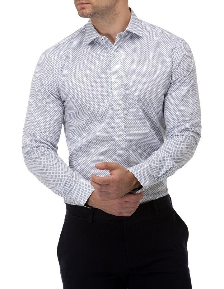 Diamond Geo Print Reg Fit Business Shirt image 1