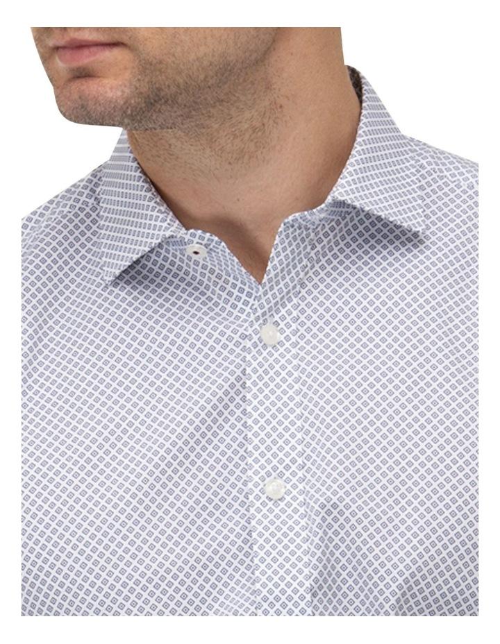 Diamond Geo Print Reg Fit Business Shirt image 2
