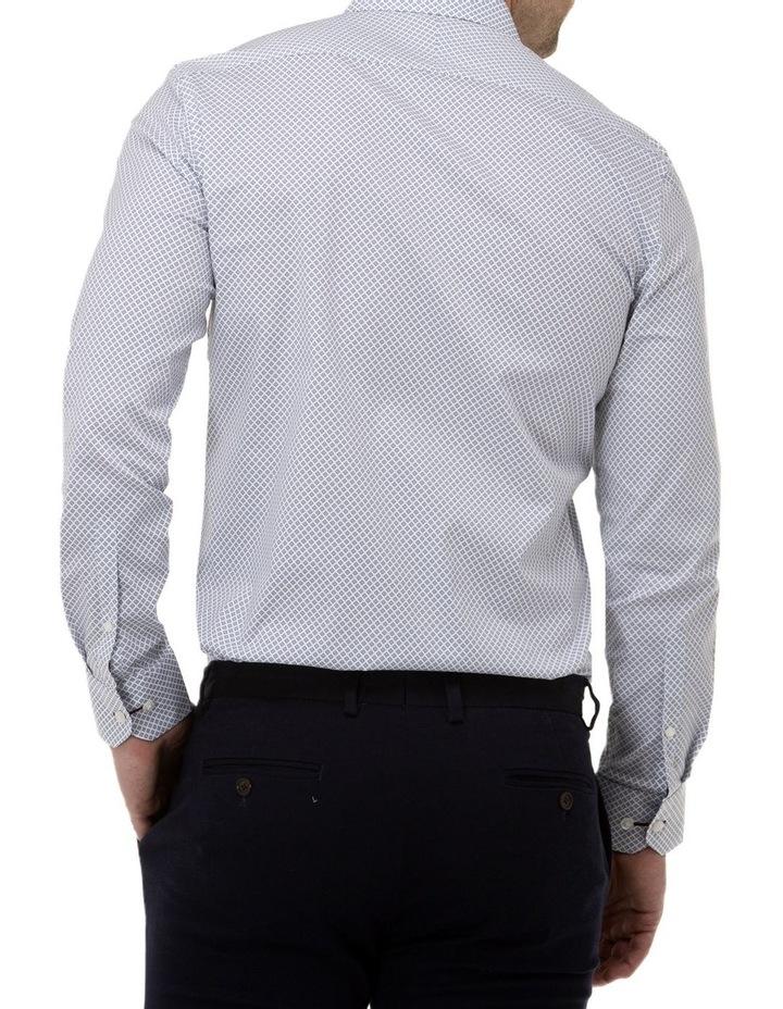 Diamond Geo Print Reg Fit Business Shirt image 3