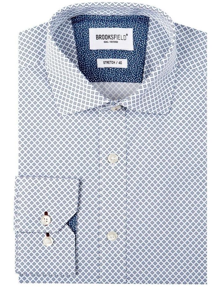 Diamond Geo Print Reg Fit Business Shirt image 4