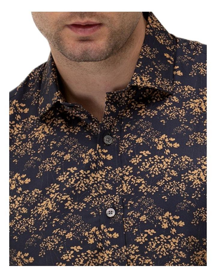 Abstract Print Slim Fit Dress Shirt image 2