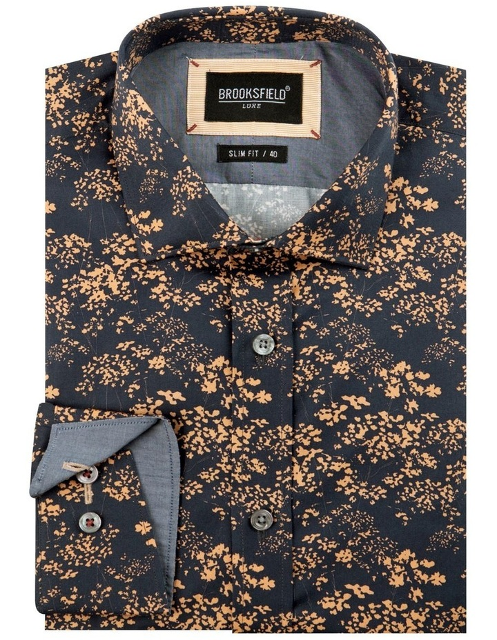 Abstract Print Slim Fit Dress Shirt image 4