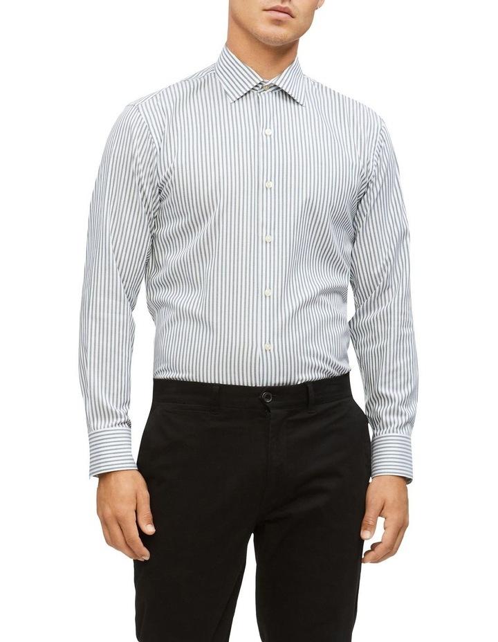 Slim Stripe Business Shirt image 1