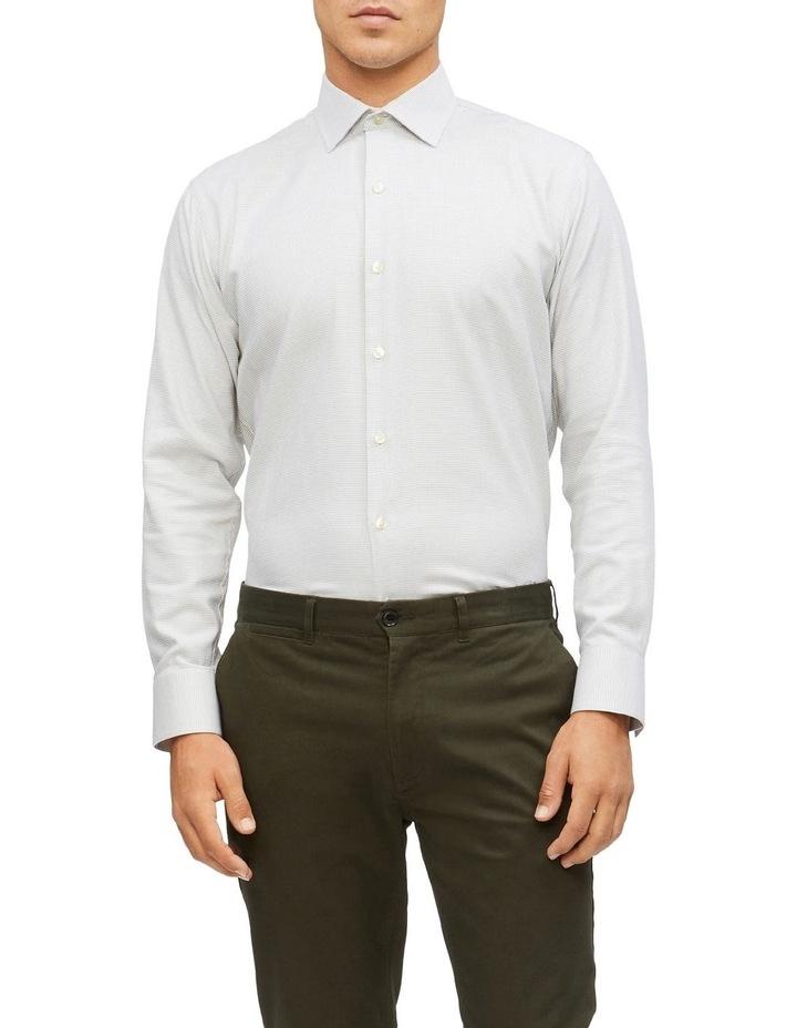 Slim Jacquard Pattern Shirt image 1