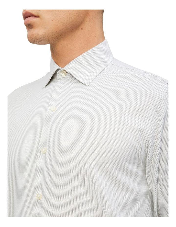 Slim Jacquard Pattern Shirt image 2