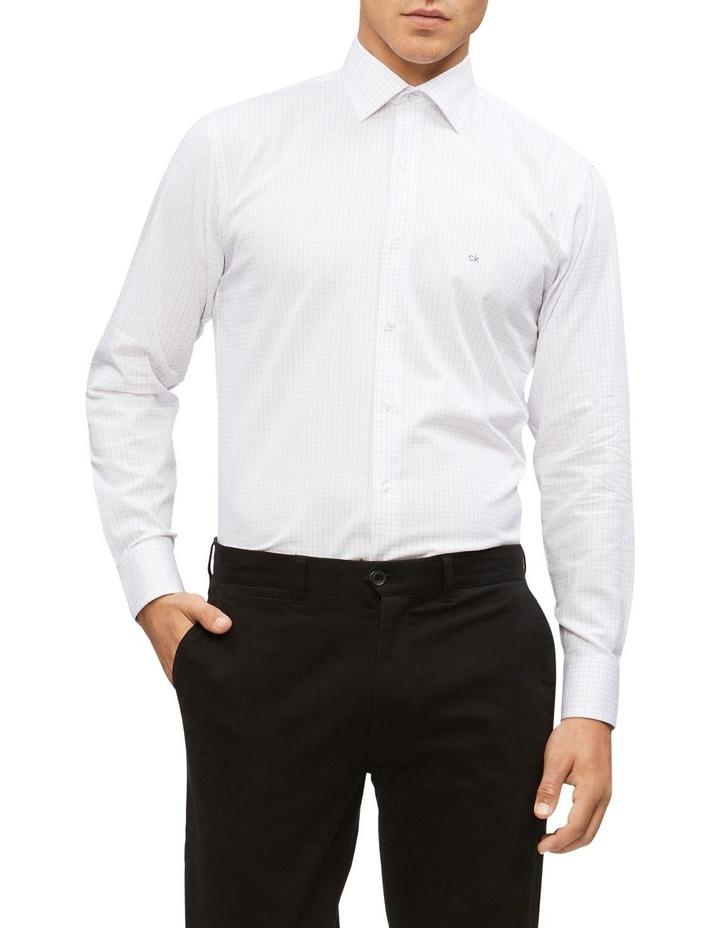 Slim Fit Business Shirt Check image 1