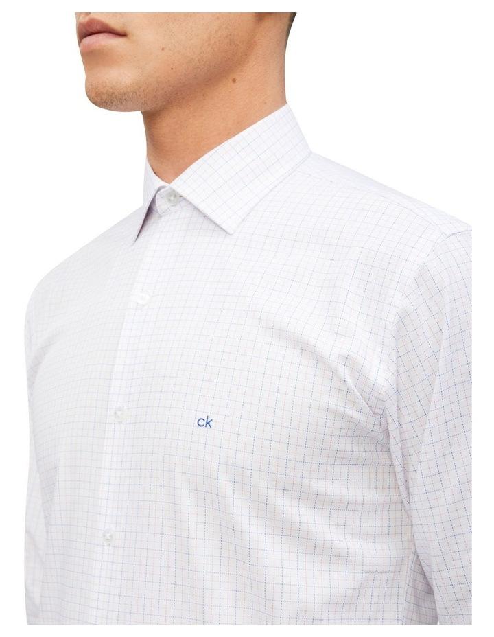 Slim Fit Business Shirt Check image 2