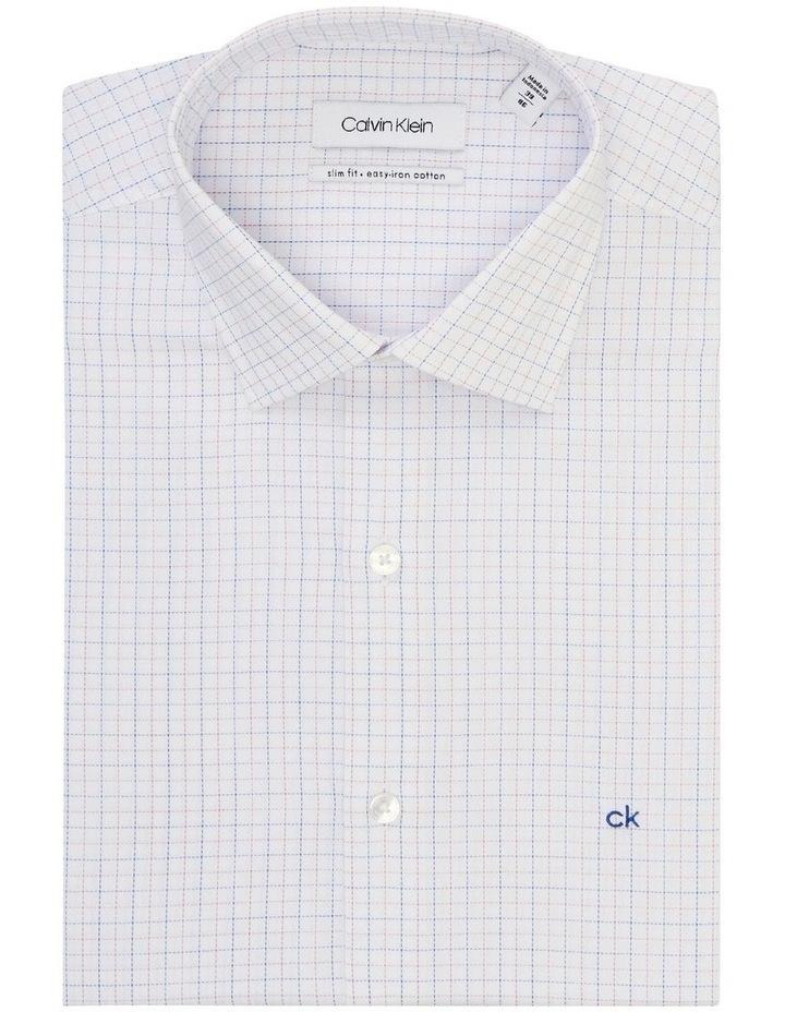 Slim Fit Business Shirt Check image 3