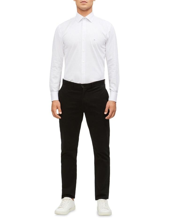 Slim Fit Business Shirt Check image 4