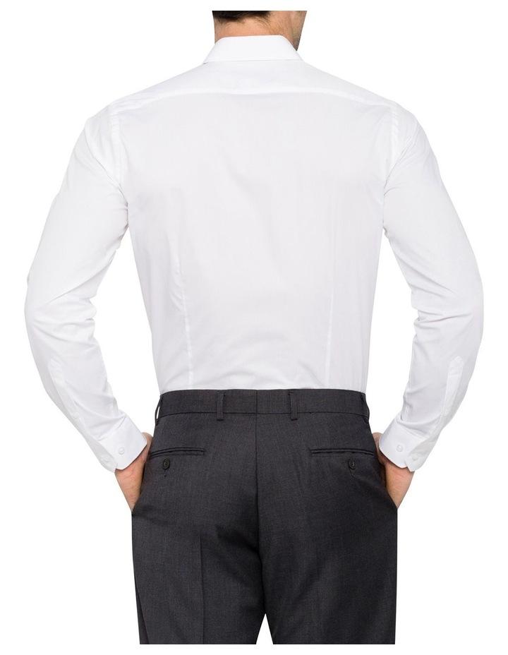 Slim Fit White Business Shirt image 4