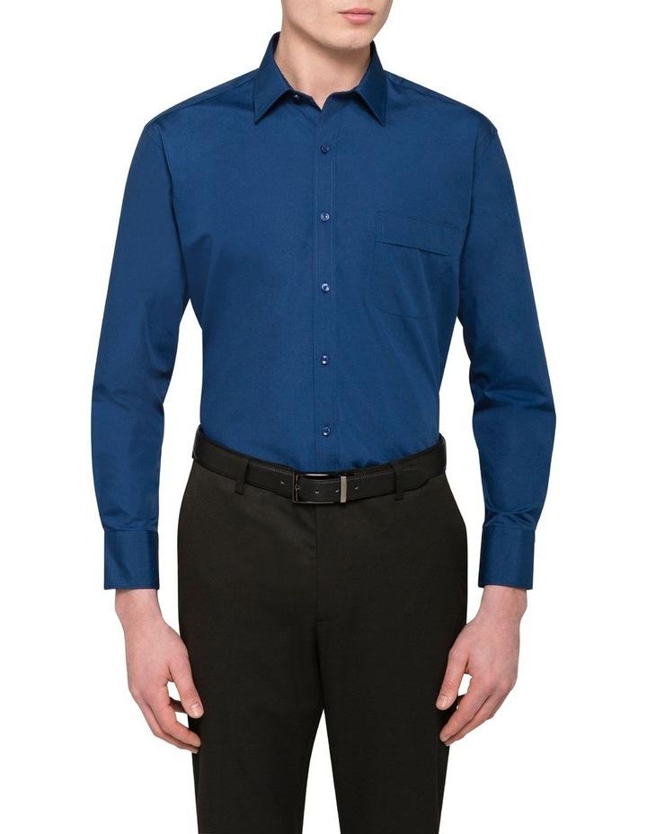 Plain Poplin Business Shirt image 1