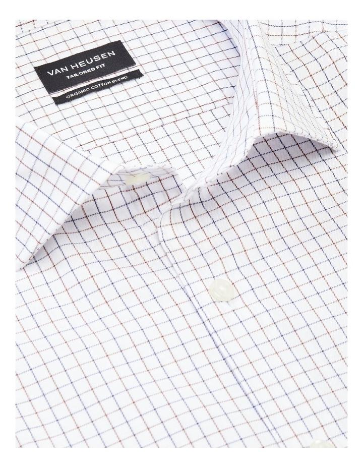 Tailored Small Check Organic Shirt image 3