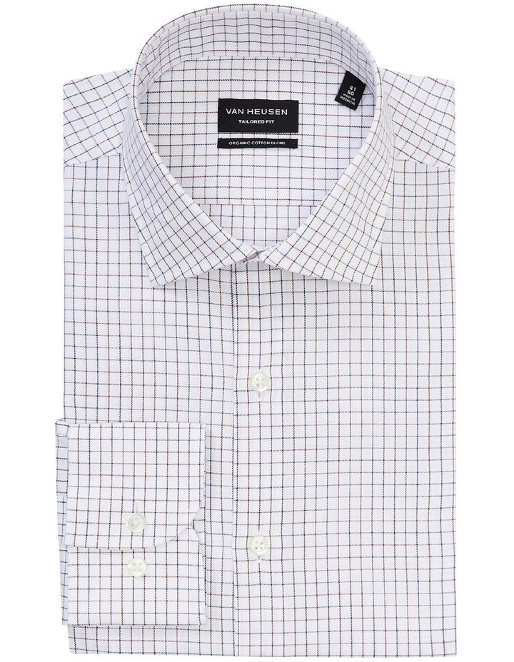Tailored Small Check Organic Shirt image 4