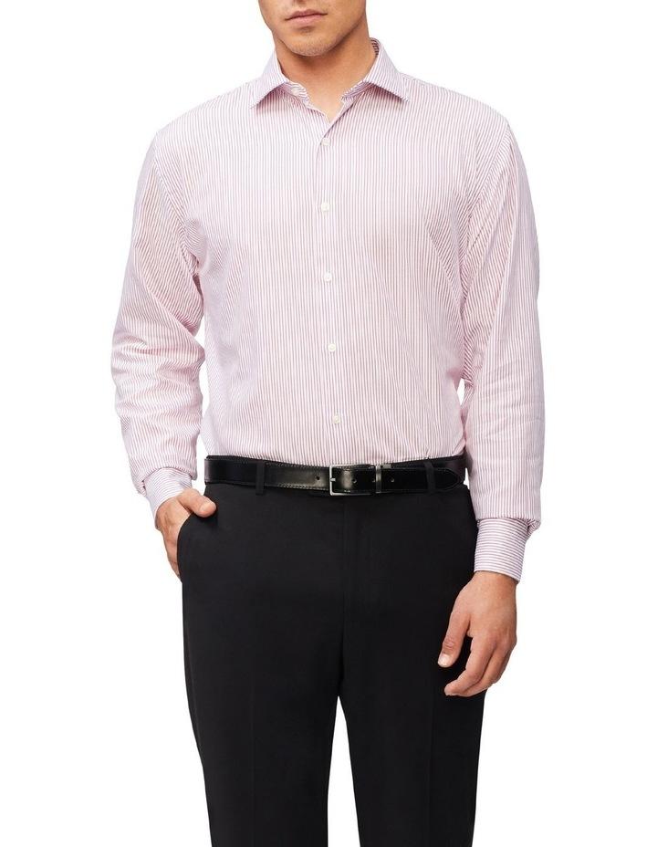 Tailored Long Sleeve Pinstripe Shirt image 1