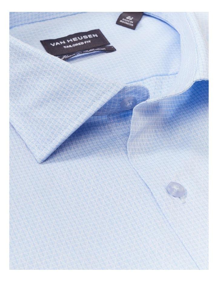 Slim Organic Cotton Pinstripe Shirt Blue image 2