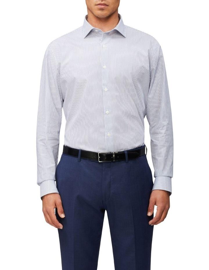 Slim Dobby Pinstripe Shirt image 1