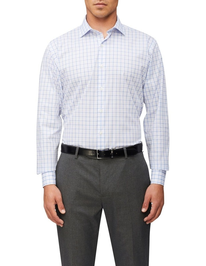 Tailored Long Sleeve Check with Dobby Shirt image 1