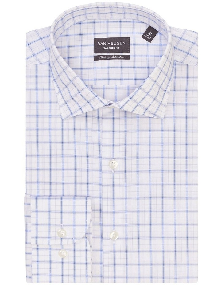 Tailored Long Sleeve Check with Dobby Shirt image 3
