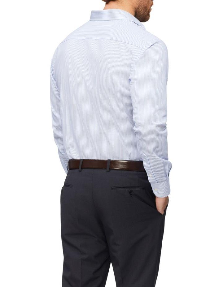 Tailored Pinstripe Shirt Stripe Shirt Blue image 2