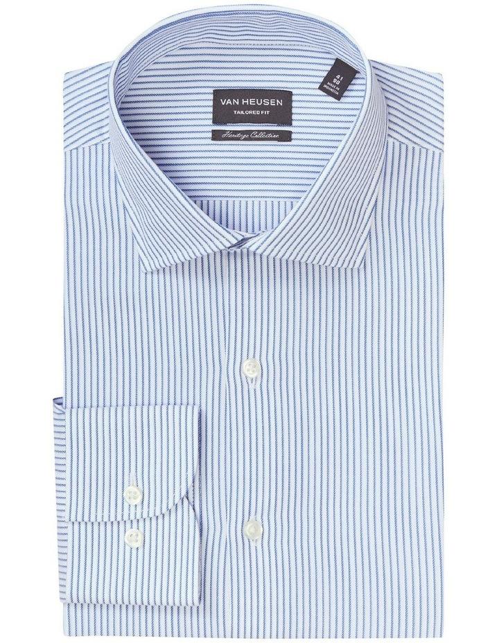 Tailored Pinstripe Shirt Stripe Shirt Blue image 3