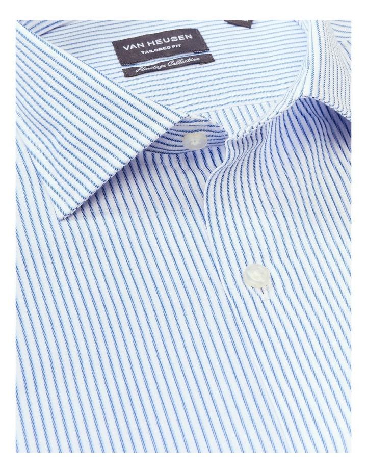 Tailored Pinstripe Shirt Stripe Shirt Blue image 4
