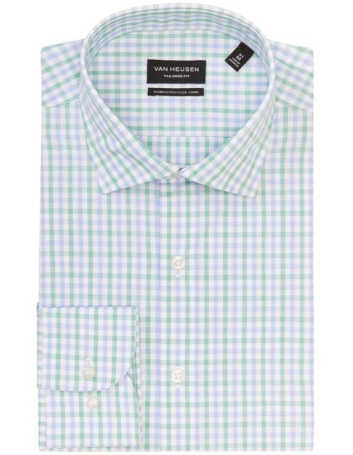 Wash N Wear Check Shirt Green image 4