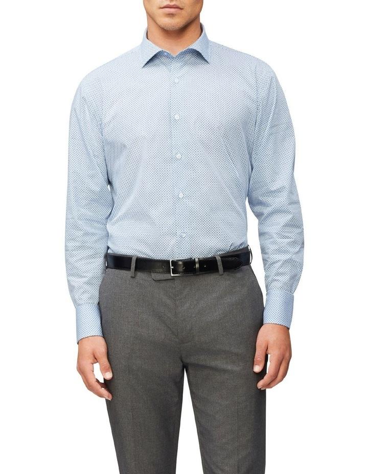 Slim Fit Cross Print Shirt image 1