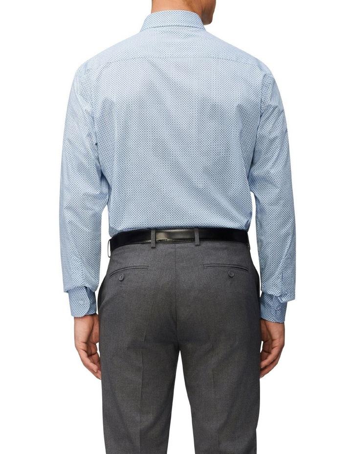 Slim Fit Cross Print Shirt image 2