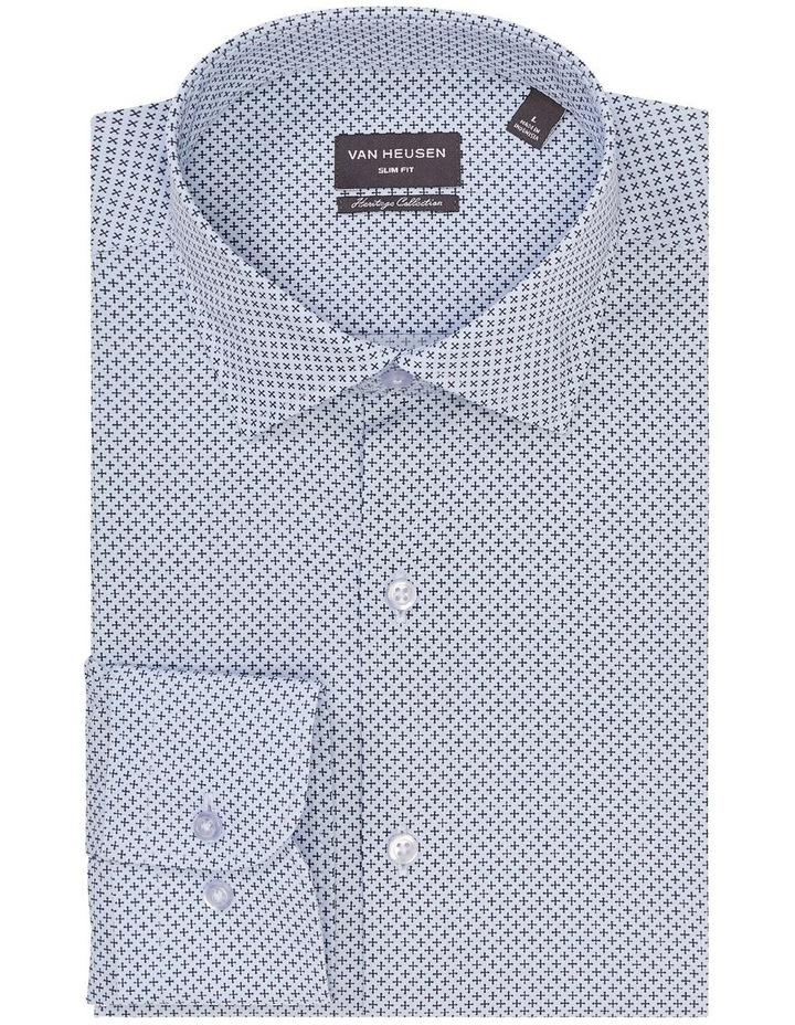 Slim Fit Cross Print Shirt image 3