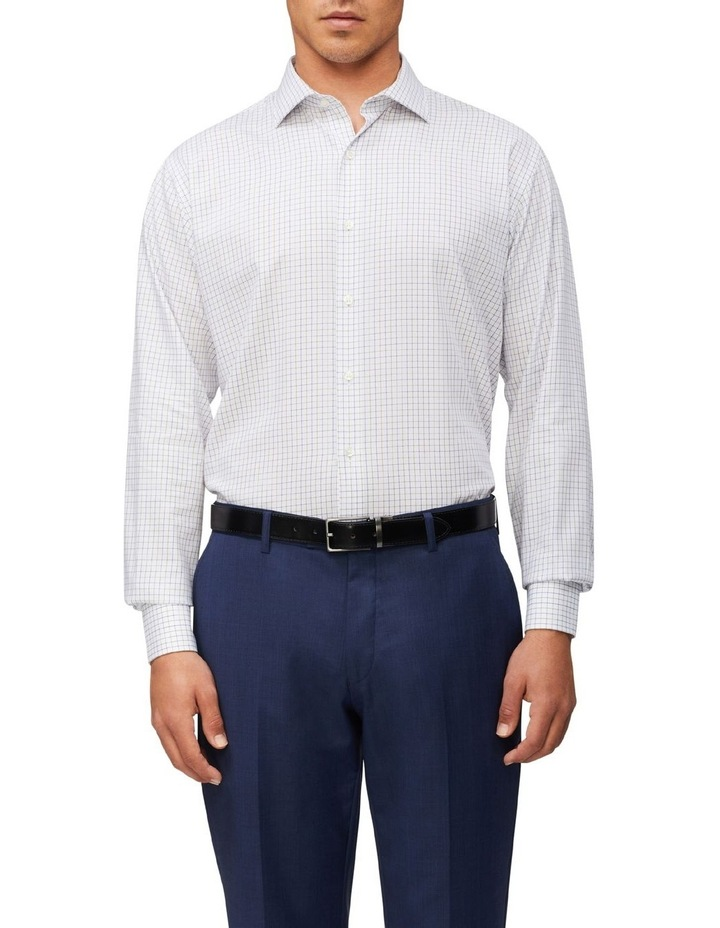 Tailored Long Sleeve 2 Colour Check Shirt image 1